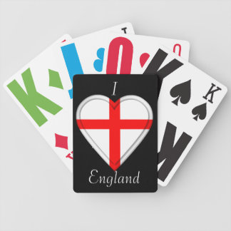 England English Flag Bicycle Playing Cards