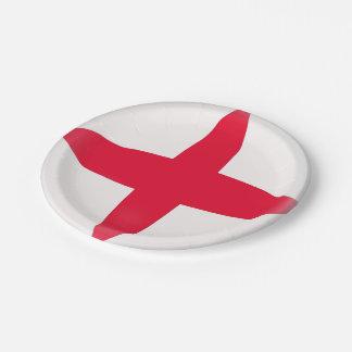 England English Flag Paper Plate
