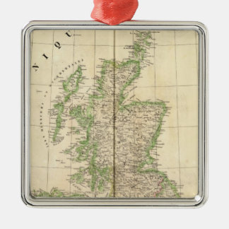 England, Europe 7 Christmas Ornament