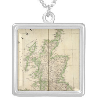 England, Europe 7 Silver Plated Necklace
