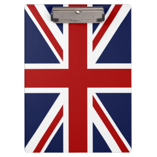 England Flag 3 Clipboard