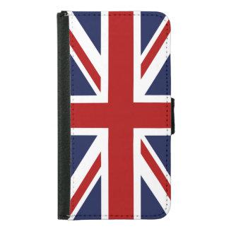 England Flag 3 Samsung Galaxy S5 Wallet Case