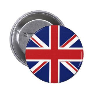 England Flag 6 Cm Round Badge