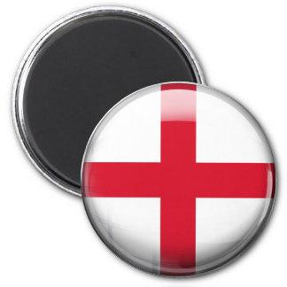 England Flag 6 Cm Round Magnet