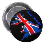 england flag 7.5 cm round badge