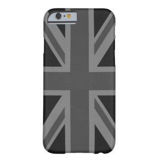 England Flag Black Gray Barely There iPhone 6 Case