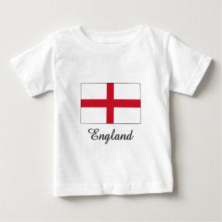 England Flag Design Baby T-Shirt
