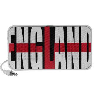 England Flag Doodle Speaker