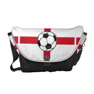 England Flag   Football Ball Courier Bags