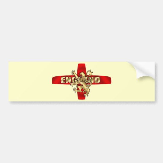 England flag Gold logo lion fun artwork gifts