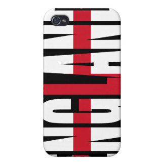 England Flag iPhone 4 case