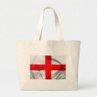 England Flag Large Tote Bag