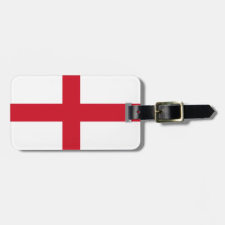 England Flag Luggage Tag