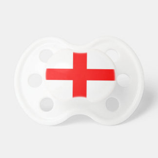England Flag of St George Baby Pacifier