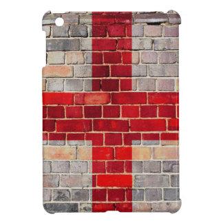 England flag on a brick wall iPad mini covers