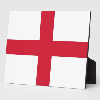 England Flag Plaque