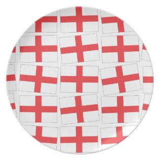 England Flag Plate