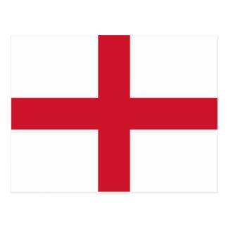 England Flag Postcard