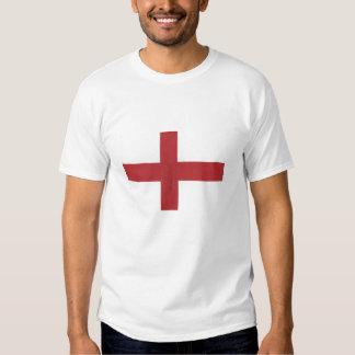England Flag T Shirt