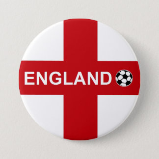 England Football 7.5 Cm Round Badge