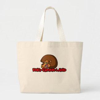 England Football (Brown Mane) Tote Bag
