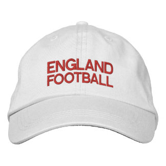 ENGLAND FOOTBALL EMBROIDERED BASEBALL CAPS
