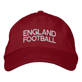 ENGLAND FOOTBALL EMBROIDERED HAT