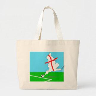 England Football England Kicks For Goal! Jumbo Tote Bag
