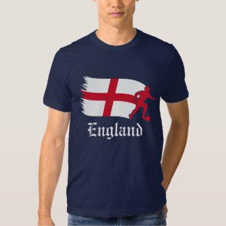 England Football Flag T Shirts