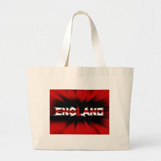 england football (soccer) team canvas bag