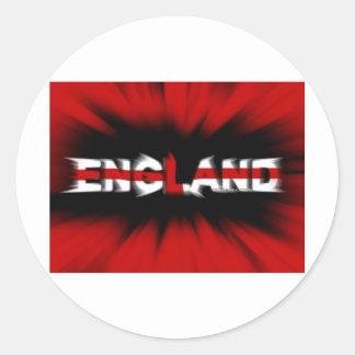 england football (soccer) team round stickers