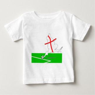 ENGLAND Football Team White Background Shirt