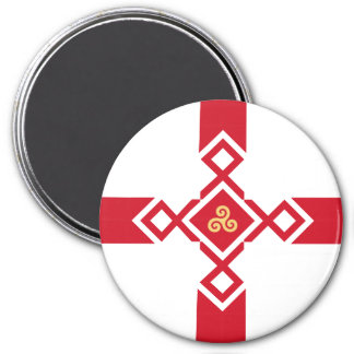 England Fridge Magnet - Anglo-Celtic Cross