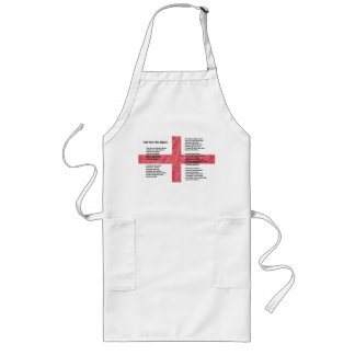 England - God Save the Queen Long Apron