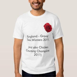 England Grand Slam 2011 Tee
