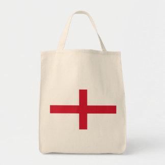 england grocery tote bag