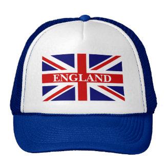 England hat with british union jack flag
