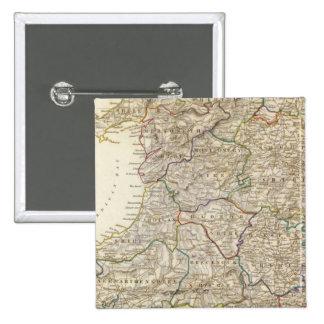 England II 15 Cm Square Badge