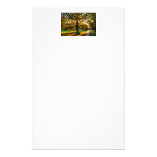 England in Autumn Personalized Stationery