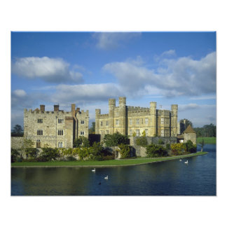 England, Kent, Leeds Castle Photo Print