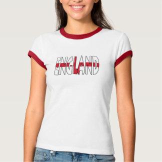 England Ladies Ringer T-Shirt
