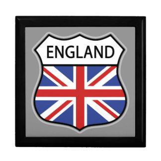 England Large Square Gift Box