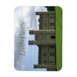 England Leeds Castle Rectangular Photo Magnet