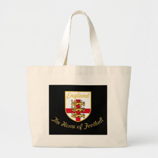 England Lions The Home of Football Soccer Badge Bags