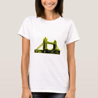 England London Bridge Yellow Black The MUSEUM Zazz T-Shirt