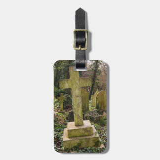 England, London, Highgate Cemetery, gravesite Luggage Tag