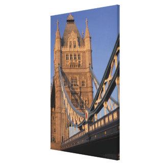 England, London, The Tower Bridge Canvas Print