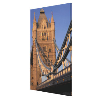 England, London, The Tower Bridge Stretched Canvas Print