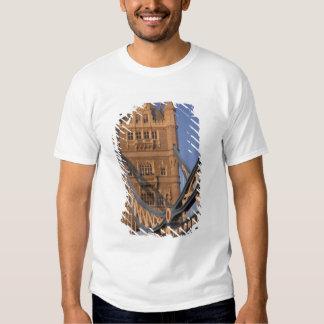 England, London, The Tower Bridge Tee Shirts