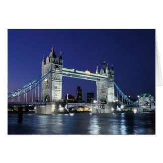 England, London, Tower Bridge 3 Card